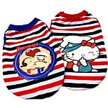 Собака Футболка Одежда для собак На каждый день Носки детские Красный Синий