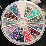 1 PC  Candy Ball Nail Stick 12 Color Wheel Loading