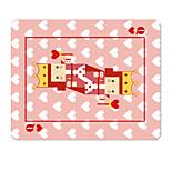 Гало эксклюзивные оригинальные ткани коврик для мыши Алиса в стране чудес милый мультфильм ручная роспись 22 * 18 см