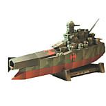 Пазлы Набор для творчества 3D пазлы Строительные блоки Игрушки своими руками Квадратный Корабль