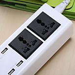 Многофункциональный USB-модуль для подключения плагинов для смарт-карт usb plug-in для мобильных плагинов 2 розетки и 4 USB-порта