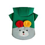 Собака Толстовки Одежда для собак На каждый день Носки детские Желтый Красный Зеленый