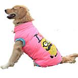 Собака Жилет Одежда для собак На каждый день Носки детские Желтый Розовый