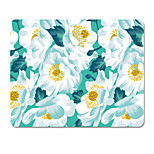 HALO Original Cloth Mouse Pad Camellia Japanese Cute Personality Hand Painted 22 * 18cm