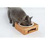 Кошка Собака Миски и бутылки с водой Животные Чаши и откорма Прочный