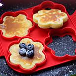 1 шт. Файлы cookie Для Egg Для приготовления пищи Посуда Силиконовые Инструмент выпечки Экологичность