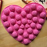 Формы для пирожных Новинки В форме сердца Для приготовления пищи Посуда Для шоколада Для тортаИнструмент выпечки Высокое качество