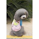 Собака Толстовка Одежда для собак На каждый день Носки детские Черный Оранжевый Серый Желтый Розовый