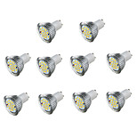 10pcs 5W LED Spotlight GU10 16 SMD5730 Warm/Cool White Decorative Led Lamp AC85-265V