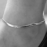 Women's Metal Chain Fishbone Anklet Snake Chain Anklet/Bracelet Gold Silver Color Alloy Fashion Animal Shape Jewelry For Daily Casual
