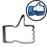 Thumbs Up Cookies Cutter Facebook Give a Like Emoji Stainless Steel Mold Biscuit Egg Fry Mold Omelette