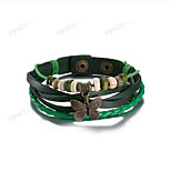 MPL Europe and the United States fashion Retro Leather Bracelet