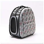 Кошка Собака Переезд и перевозные рюкзаки Животные Корпусы Компактность Дышащий Цветы Оранжевый Серый Розовый