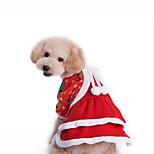 Собака Костюмы Комбинезоны Одежда для собак Рождество Новогодняя тематика