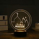 LED Night Light Декоративное освещение-0.5W-USB Декоративная - Декоративная