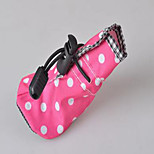 Dog Shoes & Boots Casual/Daily Sports Polka Dots Ruby Fuchsia