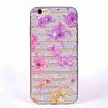 Чехол для iphone 7 7 плюс крышка полупрозрачный узор задняя крышка чехол цветок мягкий tpu для iphone 6 6s 6s плюс 5s 5 se
