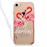 Чехол для iphone 7plus 7 фламинго модель акриловая объединительная плата и ремешок для крепления кромки талии 6s плюс 6plus 6s 6 se 5s 5