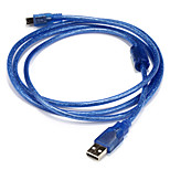 USB 2.0 Кабель, USB 2.0 to Mini USB Кабель Male - Male 1.5M (5Ft)