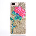 Case for apple iphone 7 7 plus case cover roses pattern мягкая сторона бриллиантовая шарик флеш-память для мобильного телефона для iphone