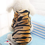 Dog Coat Dog Clothes Casual/Daily Animal Leopard