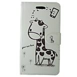Чехол для huawei p8 lite 2017 p10 мультфильм жирафа полный чехол для тела с картой и футляром для p6 p7 p8 p8 lite p9