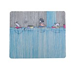 The Little Brother Of Childhood Memories Of Art Fresh Illustrator Mouse Pad Natural Rubber Fabric 20 * 23.8cm