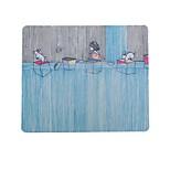 Маленький брат детства воспоминания об искусстве свежий иллюстратор коврик для мыши натуральная резиновая ткань 20 * 23,8 см