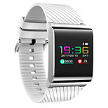 0.96 Inch Color Touch Screen Smart Bracelet  Water Proof Long Standby Calories Burned Pedometers  Heart Rate Monitor for Ios Android Mobile Phone