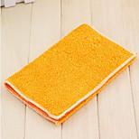 Kitchen Bamboo Fiber Wash Towel Thicker Non-stick Oil Absorption