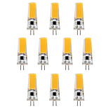 10PCS BRELONG G4 1*COB 270-300LM Warm/Cool White AC/DC 10-16V Waterproof LED Bi-pin Lights