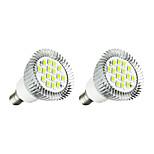 3W Точечное LED освещение 16 SMD 5630 260-300 lm Тёплый белый Белый AC 220-240 V 2 шт.