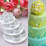 4 предмета Формы для пирожных 3D Повседневное использование Other Инструмент выпечки