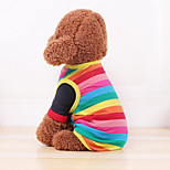 Собака Жилет Одежда для собак На каждый день Полоски