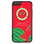 Чехол для Apple iphone 7 плюс 7 обложка с талрепом задняя крышка чехол слово фраза фрукты блеск блеск жесткий ПК 6 с плюс 6 плюс 6 6s