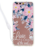 Case For Huawei P10 Lite P10 Flower Pattern Acrylic Backplane and TPU Edge Materia Neck Lanyard P9 Lite P8 Lite 2017 P8 Lite