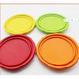 Игрушка для собак Игрушки для животных Летающие тарелки Эластичный Ткань