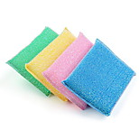 Strongly Decontamination Sponge Double-sided Clean Dishwashing Wipes