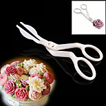 Flower scissor pastry tips cake ice cream transfer scissor fondant cake modeling tools cake decorating shift tool