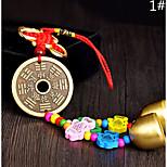 Сумка / телефон / брелок шарм звон колокол мультфильм игрушка китайский стиль металл