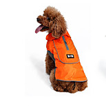 Dog Vest Dog Clothes Casual/Daily Holiday Cosplay Fashion Sports Halloween Solid Orange Black