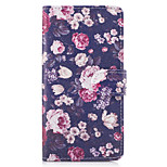 Case For Huawei P10 Lite P8 Lite (2017) The Flowers Pattern PU Leather Cases for Huawei P9 Lite Mate 9 Y625 Changxiang5