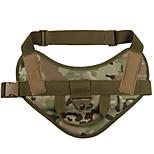 Собака Жилет Одежда для собак Спорт Сплошной цвет Охотничий зеленый Камуфляж цвета Хаки