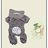 Собака Костюмы Одежда для собак Косплей Носки детские Серый Пурпурный Коричневый