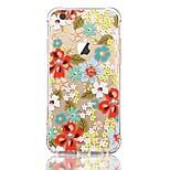 Obudowa dla iPhone 7 6 kwiat tpu miękka cienka tylna obudowa pokrowiec obudowa iphone 7 plus 6 6s plus se 5s 5 5c 4s 4