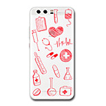 For Huawei P10 Plus P10 Case Cover Transparent Pattern Back Cover Case Heart Soft TPU for Huawei P9  P9 Lite P9 Plus P8 P8 Lite