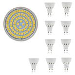 5W Точечное LED освещение MR16 80 SMD 2835 400 lm Тёплый белый Холодный белый Декоративная AC 220-240 V 10 шт.