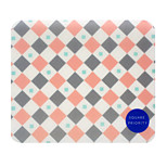 Youth Square TR-AF18547 Temperament Geometry Mouse Pad Waterproof Wear-Wesistant 22.5 * 19.5 * 0.5cm