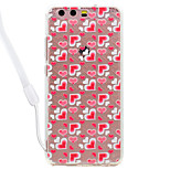 Case For Huawei P10 Lite P10 Heart Pattern Acrylic Backplane and TPU Edge Materia Neck Lanyard P9 Lite P8 Lite 2017 P8 Lite