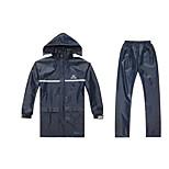Electric Vehicle Split Raincoat Motorcycle Adult Split Raincoat OnePiece PVC Raincoat Rain Pants